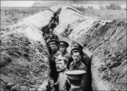 The trenches were the beginning of the end